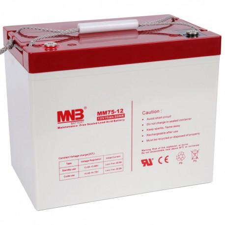 Аккумулятор MNB MM75-12
