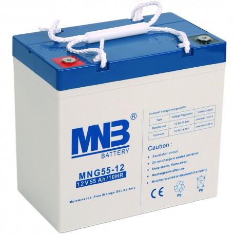 Аккумулятор MNB MNG55-12