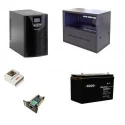 Комплект ИБП и АКБ с системой Bypass и SNMP-оповещением