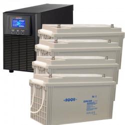 ИБП 1,2 кВт на 3 часа 40 минут
