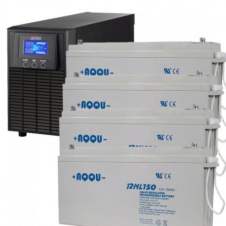 ИБП 1,5 кВт на 3 часа 40 минут