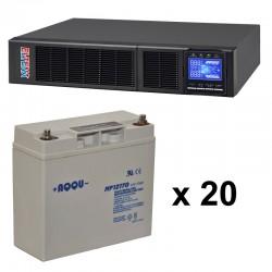 ИБП 4 кВт на 25 минут