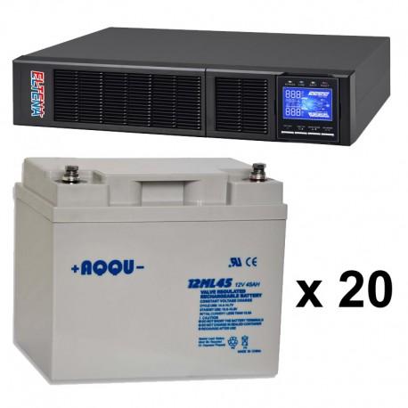 ИБП 4 кВт на 1 час 40 минут
