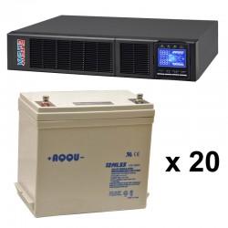 ИБП 4 кВт на 2 часа 10 минут