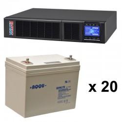 ИБП 9 кВт на 1 час 10 минут