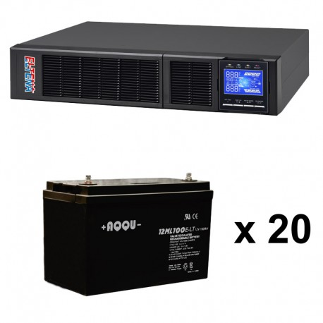 ИБП 10 кВт на 1 час 25 минут