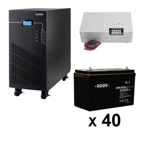 ИБП 3ф/3ф (20/200Ач) до 9 кВт - от 3 часов 50 мин автономии