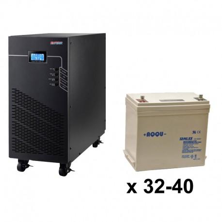 ИБП 3ф/3ф (40/55Ач) до 36 кВт - от 16 мин автономии