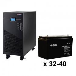 ИБП 3ф/3ф (40/100Ач) до 36 кВт - от 38 мин автономии