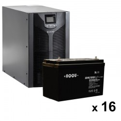 ИБП 4 кВт на 3 часа 40 минут